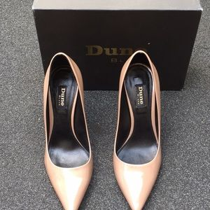 Dune Black Amilie pink Nude Patent High Point