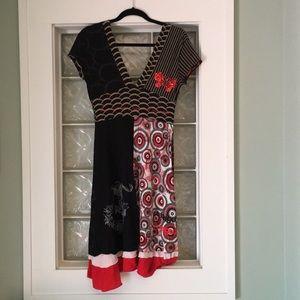 Desigual Salsa Dragon Dress