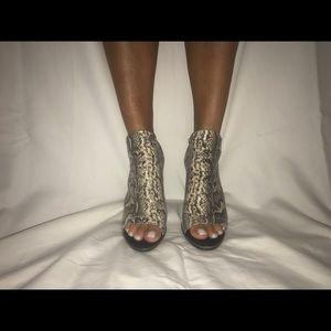 Snake Skinned Heels