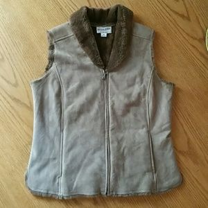 Pendleton 100% Leather Vest In Excellent Condition