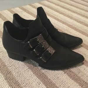 Black Ankle Boots Premium Quality Size 6