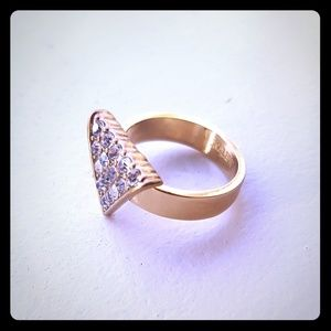 J. Crew triangle ring