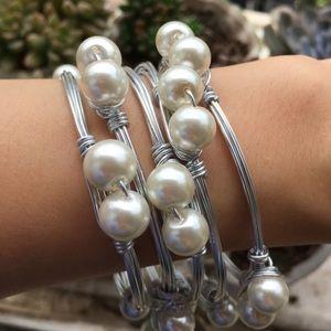 Jewelry - Pearl Bangle Bracelet