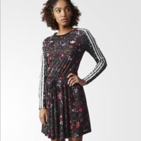 adidas flower dress