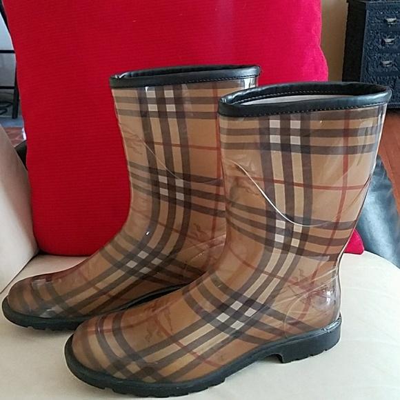 Burberry Shoes   Burberry Rain Boots