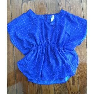 cherokee girls blouse