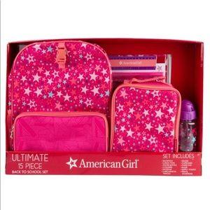 NEW American Girl Backpack Set