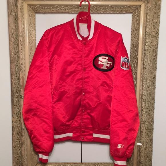4a72d370 Vintage San Francisco 49ers Starter Jacket x 80s