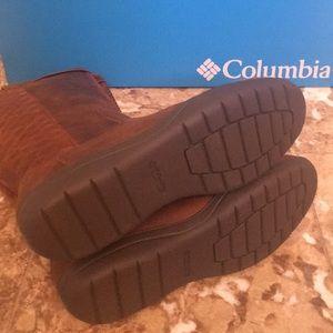 4ed5cd9425c NIB COLUMBIA Lisa Waterproof Leather Boots 9 10 NWT