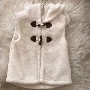 Toddler old navy fleece vest