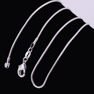 """Jewelry - ⭐️⭐️⭐️⭐️⭐️20""""/24"""" 925 Sterling Silver Snake Chains"""
