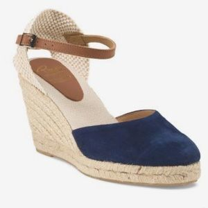 Shoes - Made in Spain Suede Wedges