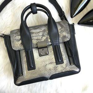 ❤️HP❤️ PHILLIP LIM Mini Pashli metallic satchel