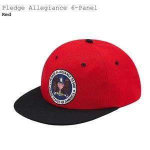 Pledge Allegiance Cap by Supreme