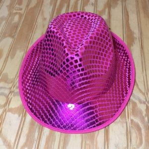 Other - Hot pink dance costume hat