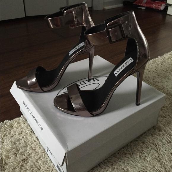 32b4e06254a Steve Madden ankle strap stiletto heels