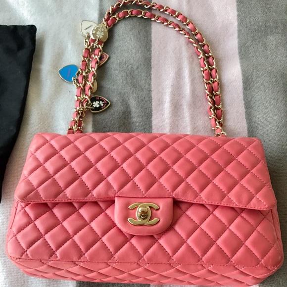 6b4e64ebc05e CHANEL Handbags - Chanel Valentine Hearts Classic Single Flap