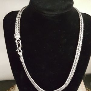 Jewelry - Wide Silver Necklace