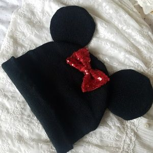 Other - 🎊HP🎉 NWOT Minnie Mouse Winter Warm Girl Hat