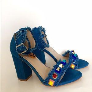 Catherine Catherine Malandrino Postco Studded Fringe Sandal ADlsMX