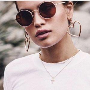 Jewelry - 5 for $25 --💕Double Heart 💕Earrings