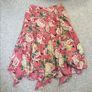 EUC handkerchief skirt