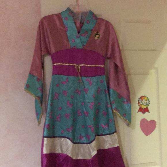 Disney Mulan costume size 7/8 & Costumes   Disney Mulan Costume Size 78   Poshmark