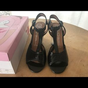 86c7eb38b96 Jeffrey Campbell Shoes - Jeffrey Campbell Venus Ombré T-Strap Heels Sandals