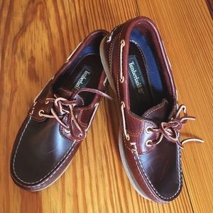 Leather Timberland Boat Shoes Loafers