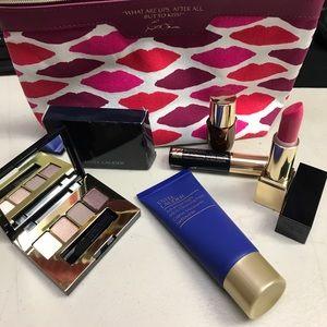 Estee lauder set eye night repair matrix lipstick