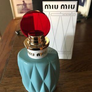 Miu Miu Eau de parfum new unused. 3.4 fl oz.