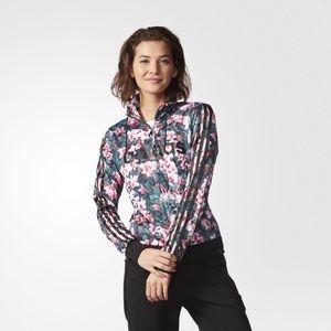 🌸Adidas NEO Floral Track Jacket