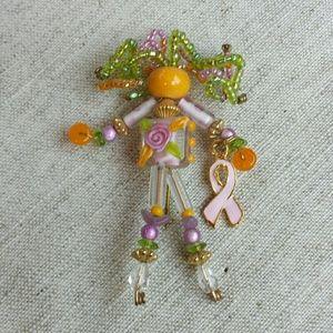 Jewelry - Moonbabies Beaded Pin