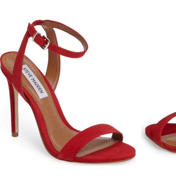 Steve Madden Landen red heels. M 59b1bbb0522b450c88000bda