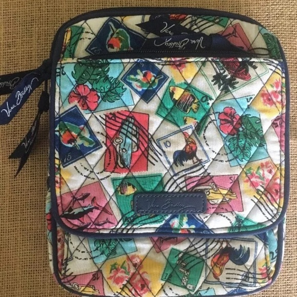 ab274cd7fe Vera Bradley Mini Hipster 🏝 Cuban Stamps