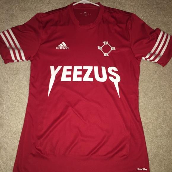 b9c17342d adidas Tops | X Yeezus Soccer Jersey | Poshmark