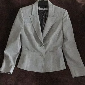 EXPRESS Heather Grey Suit Jacket