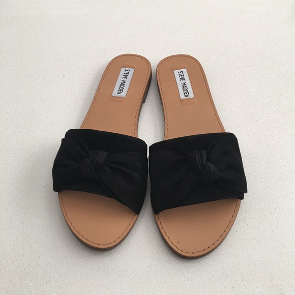 various design lowest discount catch Steve Madden Shoes | Diora Bow Slide Sandal | Poshmark