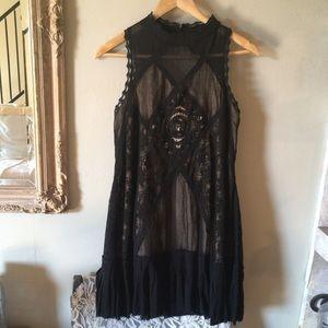 Free People Black Angel Dress