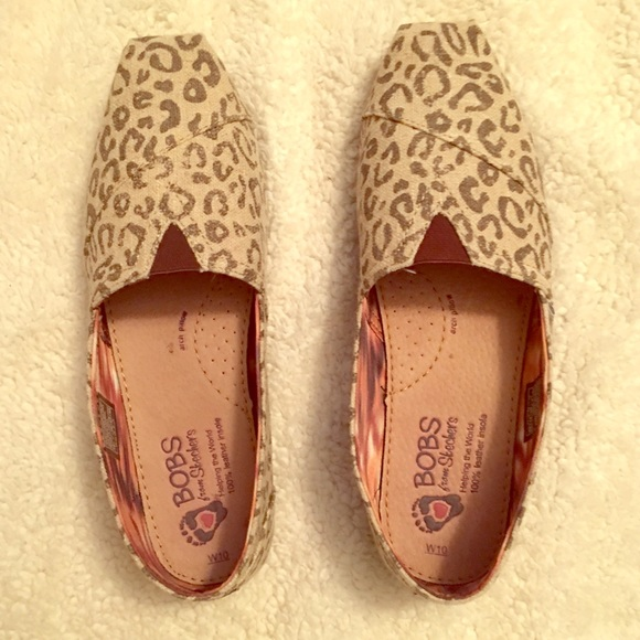 Bobs By Leopard Print Flats Size 10m