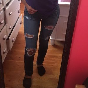 Pants - *SOLD* American Eagle Ripped Jeans