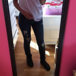 Pants - Hollister Ripped Jeans
