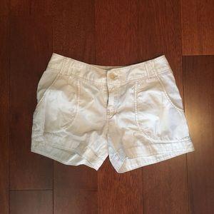 Club Monaco white shorts