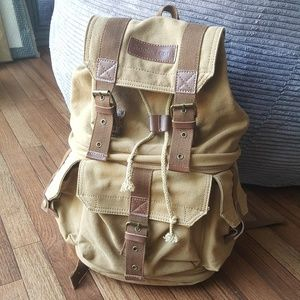 Handbags - Camera canvas backpack