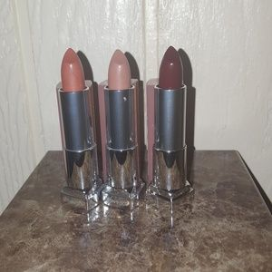 Maybelline The Buffs Nude Matte Lipsticks x 3