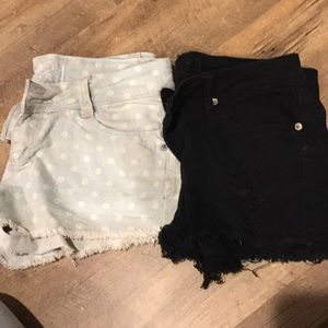 Pants - Rue 21 jean shorts. Size 3/4