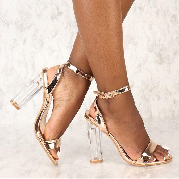 408fca12320 ... clear chunky heel. M 59b1d5ce36d594f5d3006d7e