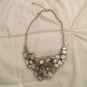 Crystal Bunch Necklace