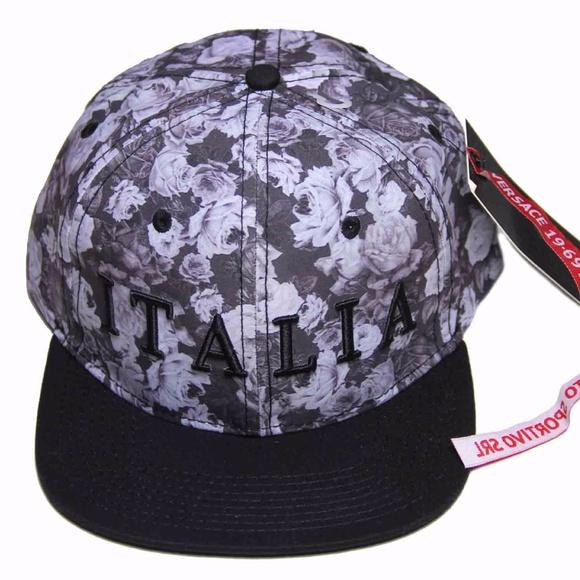 dd32f0394854 Versace Accessories | Mens Floral Italia Cap Hat One Size | Poshmark