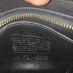 Coach Bags - Vintage Coach Leather crossbody